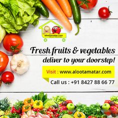 Why you need to go #Sabzi_mandi when we are available in #Chandigarh to provide you #fresh_fruits & #healthy_vegetables online.  For more info visit: www.alootamatar.com  #eathealthy #stayhealthy