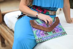 Ixchel Triangle clutch & iPad case.