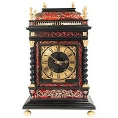 """Nice Important and Very Unusual French So-Called """"Religious"""" Table Clock"""