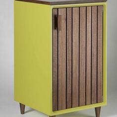 Custom Made Green Liquor Cabinet