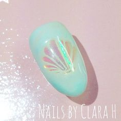 clarahnails: Mermaid nail art