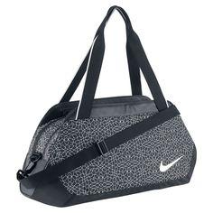 2d83cd9c037ac Nike Legend Club Print Black Black White 1 Duffel Bags     Click
