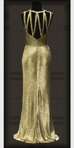 Chanel evening gown, 1930-31