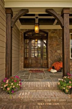 Pinnacle Home Builders, I love this front entry way.