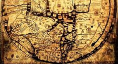 Secreted away beneath the floor of an English cathedral was a large calfskin canvas featuring what, at first glance, appeared to be a map of the world. Once recovered and repaired, the map was found t