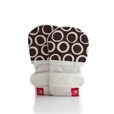 guavamitts - smart, stay on baby mittens - 1 pack