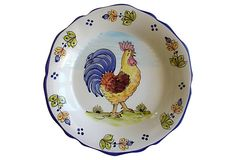 French Rooster Bowl on OneKingsLane.com