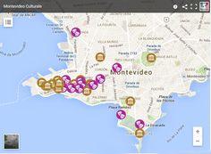 #Montevideo, una città dove si respira cultura. La mappa dei musei e dei teatri: http://ow.ly/MAp8j