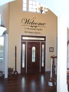Welcome Guests Wall Sticker Decals Wall Stickers Stickers - Wall decals entryway
