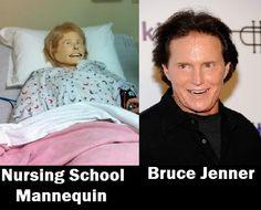 Sim Man. Nurse humor.