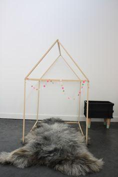 DIY: une cabane en bois en 2h pour moins de 15 euros !