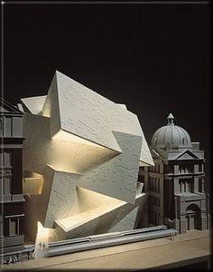 Spiral Extension to the Victoria Albert Museum,Daniel Libeskind. Concept Architecture, Futuristic Architecture, Amazing Architecture, Contemporary Architecture, Interior Architecture, Architecture Portfolio, Architecture Colleges, Museum Architecture, Architecture Panel