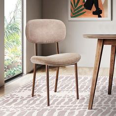 Located in North Queensland, Australia, Daintree Rainforest inspired us to create that amazing dining chair in walnut wood and textile to perfectly fit in your home decor! Furniture, American Walnut, Dining Table, Table, Chair, Home Decor, Walnut Wood, Inspiration, Dining Chairs
