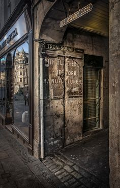 Old Assembly Close, Royal Mile, Edinburgh.