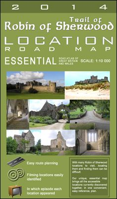 Trail of Robin of Sherwood || Shooting locations from the show!