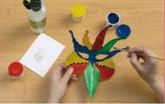 Resultado de imagen para como hacer mascaras para carnavales con materiales reciclados