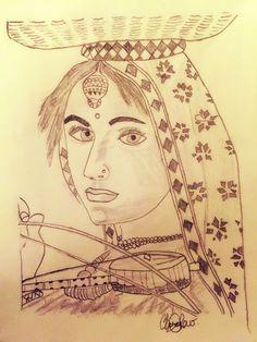 Village Tribal Girl
