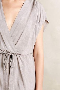 SS KAFTAN SOLID W TULIP / anthropologie.com #anthrofave