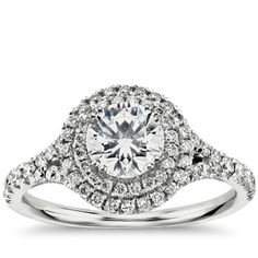 Anything to do with the ring is exciting—when it comes, what it looks like, how much it sparkles in person. If you're starting to think about your own engagement ring, seriously or not, you've likely realized that there are a whole lot of options. To help get your search started, we'd like to point you in the right direction. PS: The gorgeous diamonds you saw are all from Blue Nile.