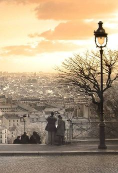 #Paris Skyline from #SacreCoeur...one of my favorite views in the whole world, for some reason it feels like stepping back in time.