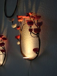 Forest Wall Light, Paper Mache wall Lamp, Baby Light, Paper Art Light Decoration, wall decor, Home Decoration, Children Room Lamp Romantic, Magic !!! A fascinating wall lamp, a little enchanted world that projects the shadows on the wall, you will feel like in a fairy tale. This