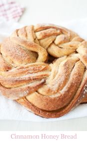 Cinnamon & Honey Twist Bread