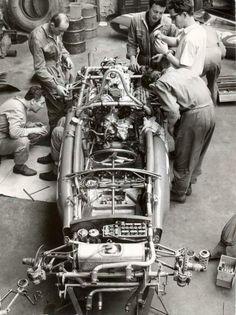Ferrari 156 . . . Naked