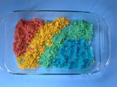 Simple Way To Dye Sand for Craft Projects