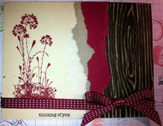 Torn Paper Flowers by LancasterLurker - Cards and Paper Crafts at Splitcoaststampers