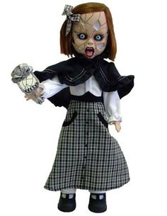 Amazon.com: Mezco Toyz Living Dead Dolls Series 13 Evangeline: Toys & Games Halloween Doll, Scary Halloween, Scary Dolls, Living Dead Dolls, Creepy, Disney Characters, Fictional Characters, Horror, Goth