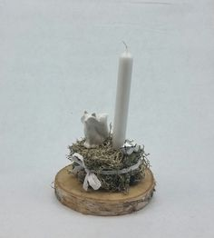 """Winter - Tischgesteck/ Gesteck """"kleiner Fuchs"""" - ein Designerstück von My-Sweet-Bambiente bei DaWanda"""