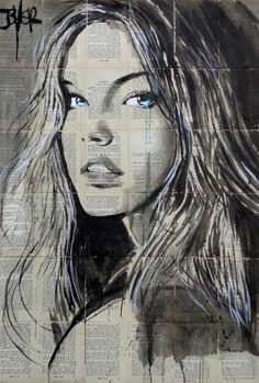 "Saatchi Art Artist LOUI JOVER; Drawing, ""montego"" #art"