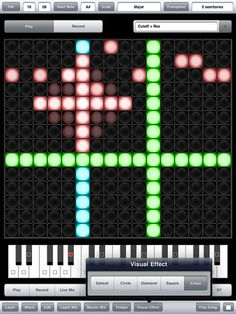 Aurora Sound Studio a pattern based musical sequencing software for the iPad. By simply choosing a musical scale every note you play is in perfect tune, leaving you to make your own great sounding music.    www.4pocketsaudio.com/product.php?p=4     Make your own apps.  Click this link now!!  http://appmaker.bravehost.com/wordpress/