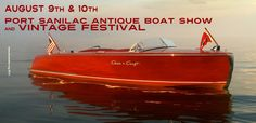 Come view the boat displays on land and in the wide-open blue water of Lake Huron in Port Sanilac. Vintage motorcycles line the street down to the harbor, as do vintage travel trailers, too!