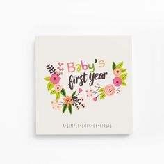 Baby's First Year Memory Book~Little Artist