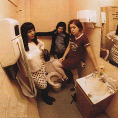 Carrie Brownstein, Corin Tucker, and Janet Weiss of Sleater-Kinney. Riot Grrrl!