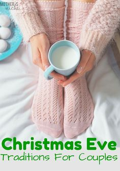 The holidays shouldn't JUST be about the kids, it's important time to strengthen other relationships as well! These Christmas Eve Traditions for Couples are so fun and will