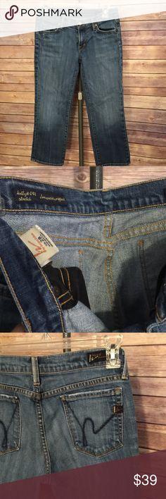 Citizens of humanity kelly#063  Sz 28 Kelly #063 low waist cropped stretch Citizens of Humanity Jeans Ankle & Cropped