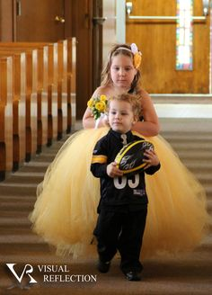 Pittsburgh Steelers - Football Themed Wedding