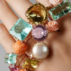 Gemstone Rings from Lito