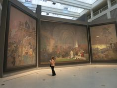 The Slav Epic by Mucha