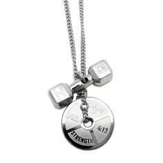4502c7456 Shields of Strength - Women's Stainless Steel Mini Combo Necklace-Phil 4:13  Weight