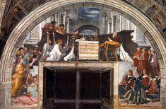 Stanza di Eliodoro Messa di Bolsena - R. Sanzio