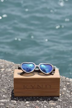"""Did you know – Your first pair of Kynd eyewear comes with a bamboo """"stash"""" case, microfiber cloth & bag, and an eyeglass tool. Yup, all of that. Enjoy, friends. #shopsustainably #ecofriendlyfashion #kyndeyewear"""