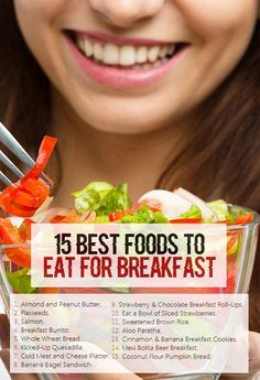 15 Best Foods to Eat for Breakfast Banana Breakfast Cookie, Eat Breakfast, Snack Recipes, Cooking Recipes, Snacks, Appetite Control, Good Foods To Eat, Breakfast Burritos, Morning Food