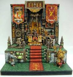 Checkout this amazingly detailed Golden Throne Diorama by Sven Winterwind. If you click on the Conversion Corner label you'll be able to scroll through some great looking …