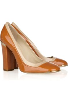Faux patent-leather pumps by Stella McCartney