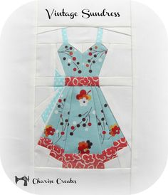 Vintage Sundress by Charise Creates Love, love, love her designs!
