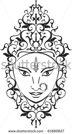 Find Durga stock images in HD and millions of other royalty-free stock photos, illustrations and vectors in the Shutterstock collection. Figure Painting, Stone Painting, Hamsa Design, Learn To Sketch, Free Hand Rangoli, Silhouette Painting, Tanjore Painting, Buddha Art, Zen Art