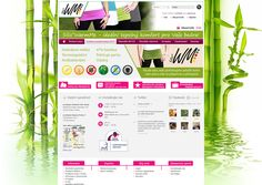 Web Design Web Design, Bamboo, Design Web, Website Designs, Site Design